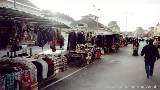 Der Wiener Naschmarkt - ein Zentrum für gefälschte Artikel