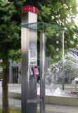 Neue Telefonzelle in Deutschland 2001