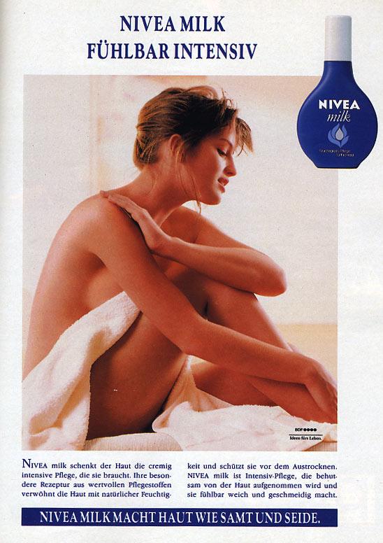 """März 1988 - Werbung """"Nivea fühlbar intensiv"""""""
