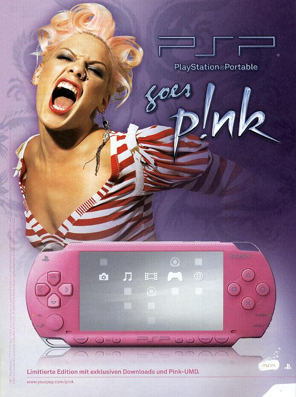 November 2006 - Werbung für Sony-Playstation