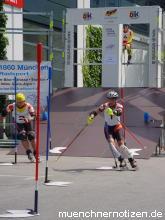 Parallelslalom mit Skates