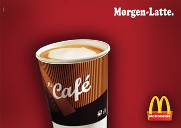 McDonald´s Morgen-Latte