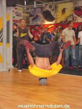 Breakdance auf der ISPO