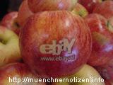 Der Apfel mit eBay-Logo