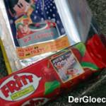 Kaubonbon FRITT - Werbung für längst abgelaufenes Online-Spiel