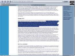 """Screenshot der Website NDR - Fersehbeitrag """"Anzeigenstopp für Medien wegen kritischer Berichte"""""""