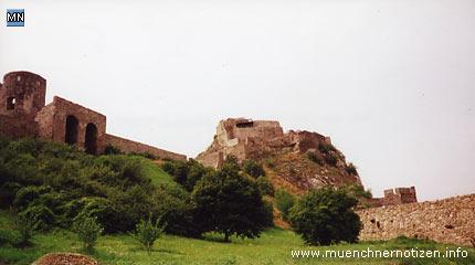 Innerhalb der Burg Devin