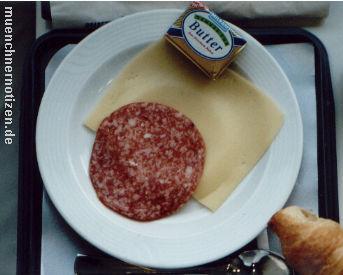 Frühstück bis zum Umfallen in der 1. Klasse für 387,50 Euro