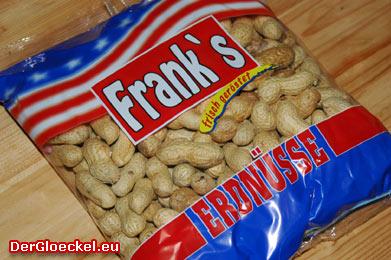 FRANK´S Erdnüsse zu zwei unterschiedlichen Preisen bei der HOFER KG