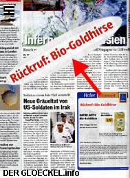 Faksimile der Schaltung der HOFER KG in der Tageszeitung ÖSTERREICH vom 8.10.06