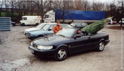 Cabriolet als Transportmittel
