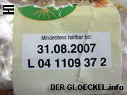 Von der uns vorliegenden Packung mit Stechapfelsamenversatz der Perlinger GmbH
