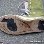 """Der rechte Schuh vom """"jello Schuhpark"""""""