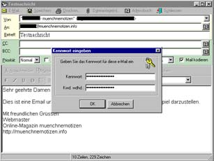 E-Mail Security V2.5 von P3d