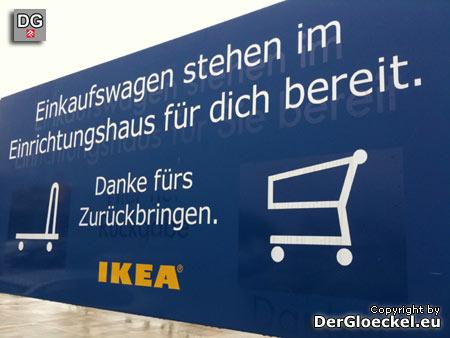 IKEA ist per DU mit seinen Kunden - IKEA Brunnthal (D)
