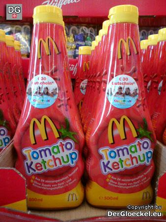 """Ein teures Ketchup bei Toys""""R""""Us von McDonald´s"""