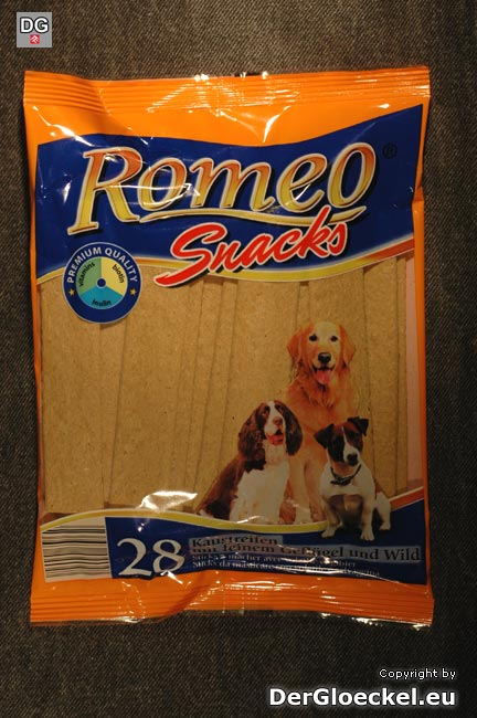 hofer aldi hundenahrung romeo snacks 28 x 10g wirtschaft der gl ckel. Black Bedroom Furniture Sets. Home Design Ideas