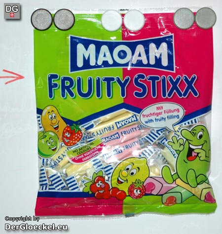 MAOAM Fruity Stixx | Foto: DerGloeckel.eu