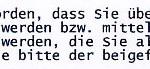 Faksimile aus der e-Mail von HOST EUROPE an das Hacker-Opfer