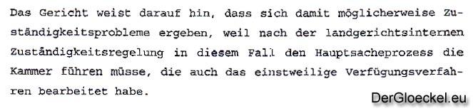 Verfahrensfehler am Landgericht Passau