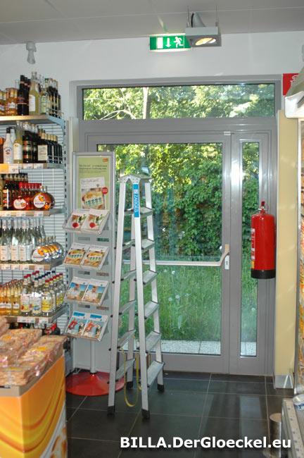 BILLA am Hausgrundweg 55 in Wien - gewohnte Bilder - das Arbeitsinspektorat läßt gewähren