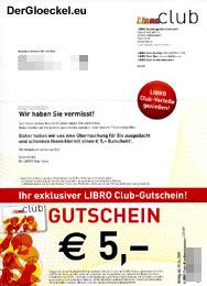 auch LIBRo überwacht das Konsumentenverhalten mit seiner Club-Karte